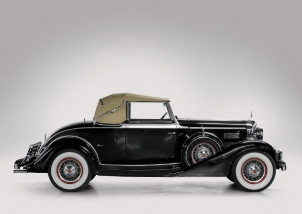 1933 LaSalle Convertible Coupe 2