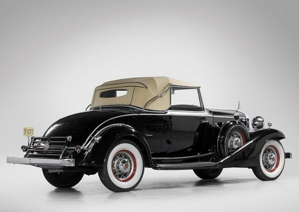 1933 LaSalle Convertible Coupe 3